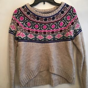 American Eagle Outfitters Crop Sweater